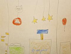 "Scene from ""Angry Birds Star Wars"" - drawing by my son at 5yo (cod_gabriel) Tags: game drawing son dessin dibujo filho computergame fiu tegning desenho disegno hijo fils zeichnung tekening sohn figlio  rovio teckning rysunek rajz piirustus   desen angrybirds menggambar    rovioentertainment"