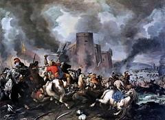 IMG_1636L Jacques Courtois dit le Bourguignon. 1628-1676. Rome (jean louis mazieres) Tags: france museum painting musée peinture museo cognac peintres