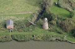 Clippesby Drainage Mill (John D F) Tags: windmill norfolk aerial broads clippesby drainagemill ashbywithoby nr136bl