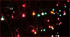 Reflecting Back On The Day (Daryll90ca) Tags: christmas lights christmaslights