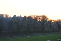 Dynefor Castle at Sunset - TROML - 914 {EXPLORED} (Clint__Budd) Tags: dyneforcastle llandielo