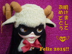 HAPPY YEAR OF THE SHEEP!!