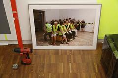 photoset: Künstlerhaus: CELLE - Welt von A-Z (3.12.2014, Aufbau)