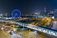 HKEYE (mikemikecat) Tags: hongkong sony central cityscapes ferriswheel nightview 夜景 摩天輪 観覧車 a7r sel2470z hkeye mikemikecat