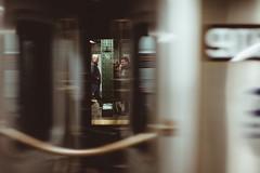 Subway Platform (Guillermo Murcia) Tags: people newyork train underground subway transportation onthemove guillermomurcia