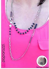 5th Avenue Grey Necklace K4 P2240A-5