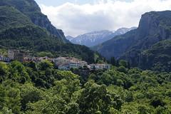 Mount Olympus, Plakas, Litochoro (kate223332) Tags: greece plakas litochoro mountolympus sea hill landscape mountainside mountain foothill cloud sky mountainpeak