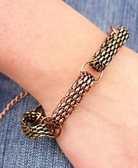 5th Avenue Copper Bracelet K1 P9820-2