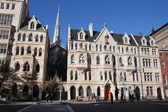 Memorial House (joseph a) Tags: newyorkcity newyork manhattan unionsquare gracechurch gothicrevival nationalhistoriclandmark graceepiscopalchurch jamesrenwick