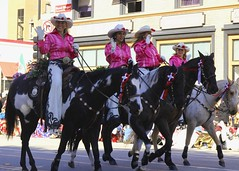 Norco Cowgirls Rodeo Drill Team (Prayitno / Thank you for (11 millions +) views) Tags: california ca pink roses cute girl rose cow team pretty parade tournament rodeo pasadena cowgirl norco drill 2015 konomark
