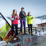 Red Mountain Teck Open - Sunday Women's GS - Overall Podium PHOTO CREDIT: Ryan Flett