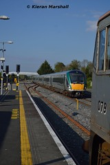 22017+220xx and 079 at Hazelhatch and Celbridge, 16/5/16 (hurricanemk1c) Tags: irish train rail railway trains hatch railways irishrail rok rotem 2016 icr iarnrd 22000 22017 ireann iarnrdireann 4pce 1810heustonportlaoise hazelhatchandcelbridge
