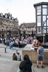 G21_0158 (bandashing) Tags: street england people beer sunshine shop manchester pub triangle drink crowd sunny bluesky alcohol sylhet bangladesh sunnyday socialdocumentary cornexchange arndale printworks aoa bandashing akhtarowaisahmed shoppingf