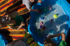 #05 The ducks pool (gaetan.vandenbroucke) Tags: festival canon play streetphotography canard 016 spelen jeux jouer heend sigmaartlenses gaetanvandenbroucke streetrepeat mark