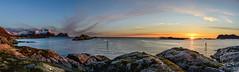 Midnight sun from Senja (John A.Hemmingsen) Tags: sunset sun landscape midnight senja midnightsun troms hamnisenja
