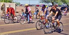 4376 (AJVaughn.com) Tags: park new arizona people beach beer colors bike bicycle sport alan brewing de james tour belgium bright cosplay outdoor fat parade bicycles vehicle athlete vaughn tempe 2014 custome ajvaughn