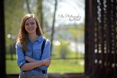 Evangeline (2ellesphotography) Tags: bridge senior outdoors spring indiana
