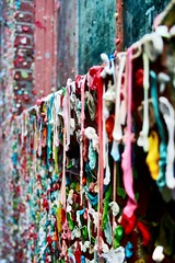 The Gum Wall (nicmalone) Tags: seattle urban art disgusting chewinggum