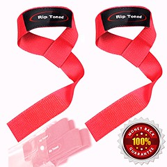 Lifting Straps By Rip Toned (PAIR) - Smaller Wrists - Bonus Ebook - For Weightlifting, Crossfit, Bodybuilding, Strength Training, Powerlifting, MMA - Lifetime Warranty - Cotton Neoprene Padded (mmaplanet1800) Tags: training pair bodybuilding cotton strength bonus weightlifting smaller toned ebook straps warranty lifting powerlifting wrists padded lifetime neoprene crossfit