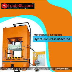 Broad Array of Hydraulic Presses from Reputed Manufacturer, Supplier & Exporter (TradeXL Media Pvt. Ltd.) Tags: machine press exporter manufacturers hydraulic manufacturer supplier suppliers exporters tradexl