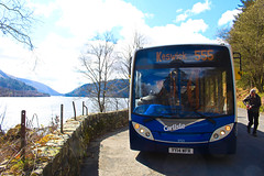 Passing Place (Matt.Bateman) Tags: place grasmere 200 cumbria shuttle service passing alexander dennis limited carlisle keswick stagecoach enviro 555 diversion adl thirlmere wfr 37125 enviro200 yy14 yy14wfr