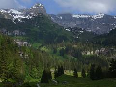 Rossmattertal (lvalgaerts) Tags: lake snow alps schweiz switzerland waterfall spring hut valley glarus glrnisch glaernisch klntalersee kloentalersee silberen vrenelisgrtli glrnischfirn firnbach rossmattertal rossmatter