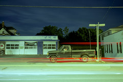 F150 (Patrick J. McCormack) Tags: street 120 film burlington analog truck vintage glow fuji kodak 6x9 portra gw690