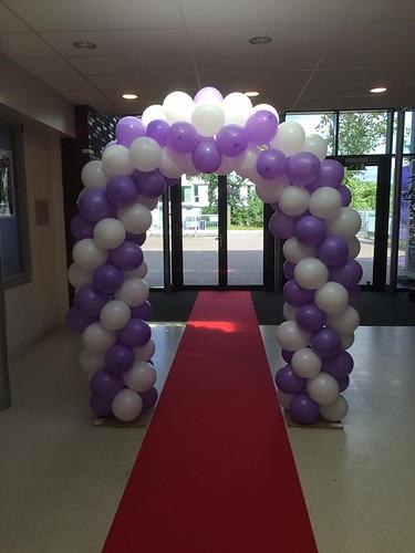 Ballonboog 5m Diplomering Edudelta College Barendrecht