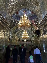 Interior Santuario de Shah Cheragh Shiraz Irán 14 (Rafael Gomez - http://micamara.es) Tags: de shrine iran interior persia shiraz ایران shah santuario irán cheragh حرم کشور شاهچراغ شیراز