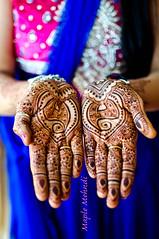 Color Bhoat Acha (B.Bubble) Tags: travel wedding portrait india art design hands marriage shaadi henna mehndi rajasthan udaipur adornment maplemehndi