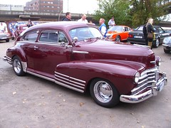 Chevrolet Fleetline 1948 (Zappadong) Tags: auto classic 1948 chevrolet car automobile hamburg voiture coche classics oldtimer oldie carshow fleetline 2014 youngtimer automobil oldtimertreffen oldtimertankstelle zappadong