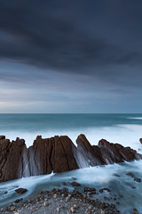 Involved In A Feeling (MANUELup) Tags: ocean sky seascape beach spain cloudy cantabria liencres