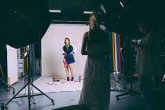 making of red shoes (mrksaari) Tags: fashion finland studio blog model setup d1 profoto silkki d700 2470mmf28g