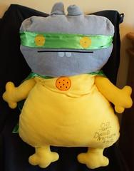 Uglydoll SDCC Jumbo Power Babo (jcwage) Tags: giantrobot ceramic prototype uglydoll rare uglydolls icebat babo sdcc wage horvath wedgehead davidhorvath sunmin trunko uglycon powerbabo dreambabo