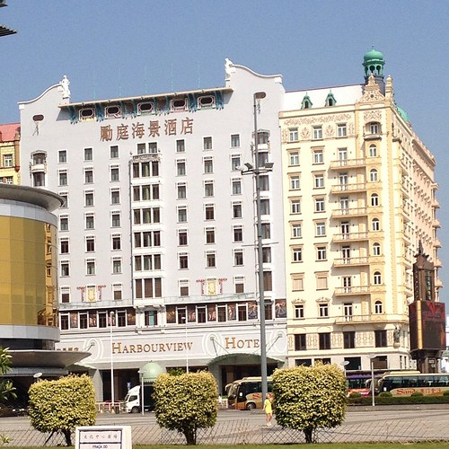 I wish there was an #artdeco #architecture tour in #macao. This hidden beauty behind the arts and cultural centre.