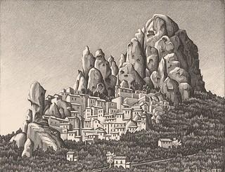 Escher - Pentedattilo