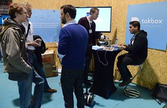 Sportsfile (Web Summit) (Web Summit) Tags: 2014websummit partner tokbox floor serious male