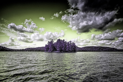 """Infrared Island and Clouds • <a style=""""font-size:0.8em;"""" href=""""http://www.flickr.com/photos/76866446@N07/15542609799/"""" target=""""_blank"""">View on Flickr</a>"""
