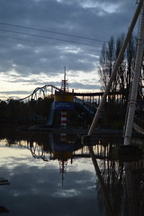 Lakeside Reflections (CoasterMadMatt) Tags: pictures bear park greatbritain november light england lake reflection english up reflections photography amusement stand log nikon ship ride photos unitedkingdom britain 10 united great wave kingdom lakeside photographs pirate gb roller theme shock amusementpark british rides rollercoaster fading flume manor coaster staffordshire bounty themepark attraction coasters drayton pirateship rollercoasters logflume intamin 2014 shockwave nikond3200 staffs draytonmanor fadinglight draytonmanorpark thebounty stormforce d3200 stormforce10 standupcoaster bearrides coastermadmatt draytonmanorlake november2014 coastermadmattphotography sbockwave
