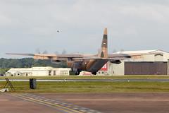 C-130 Hercules (Bernie Condon) Tags: tattoo plane flying aircraft military transport cargo airshow lockheed hercules c130 ffd fairford airlift riat airtattoo riat14