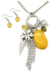 Sunset Sightings Yellow Necklace P2910A-3