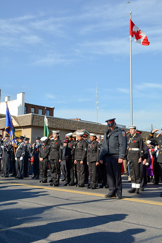 Remembrance Day 2014 in Whitby