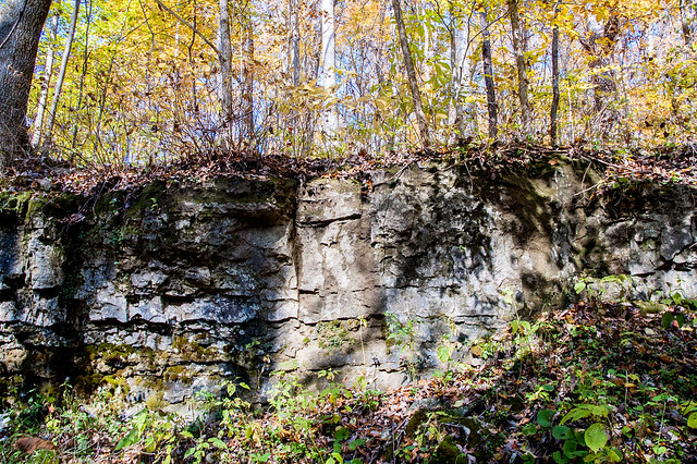 Pennywort Cliffs Nature Preserve - October 25, 2014