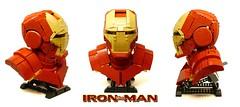 IronMan Bust (ZetoVince) Tags: