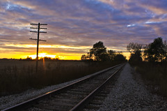 1016HENc (preacher43) Tags: road autumn fall lines rock island illinois rail henrycounty