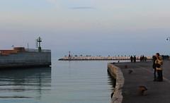 Tramonto a Rimini (Turismo Emilia Romagna) Tags: landscape riviera tramonto mare rimini porto emiliaromagna romagna rivieraadriatica ruotapanoramica rivieraromagnola costaadriatica laruotadirimini