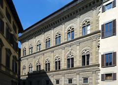 Alberti, Palazzo Rucellai, upper stories