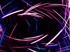Dark Energy (waruzm) Tags: christmas pink blue lights led cameratossing cameratoss icm intentionalcameramovement