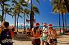 Christmas with the Duke (jcc55883) Tags: christmas hawaii nikon waikiki oahu tourists visitors d40 melekalikimaka kalakauaavenue dukekahanamokustatue kuhiobeachpark nikond40 yabbdabbadoo