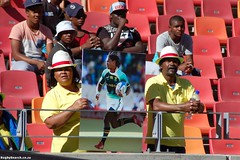 Happy Crowd at Sevens
